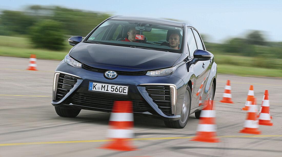 Toyota Mirai, Frontansicht