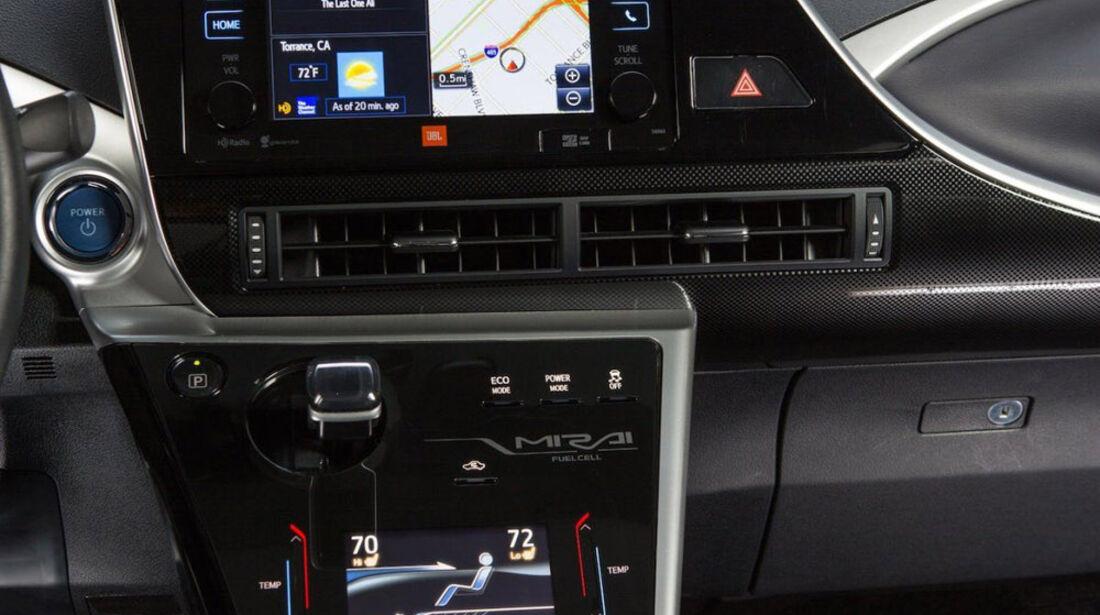 Toyota Mirai, ams, Fahrbericht, Infotainment