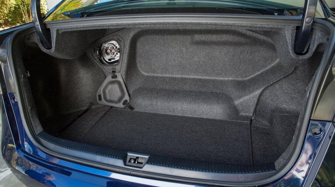 Toyota Mirai, ams, Fahrbericht, Kofferraum