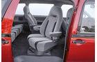 Toyota Previa, Sitze, Fondsitz