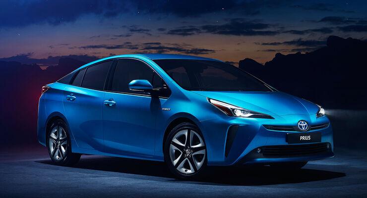 Toyota Prius (2019): Kleines Facelift und Allradoption ...
