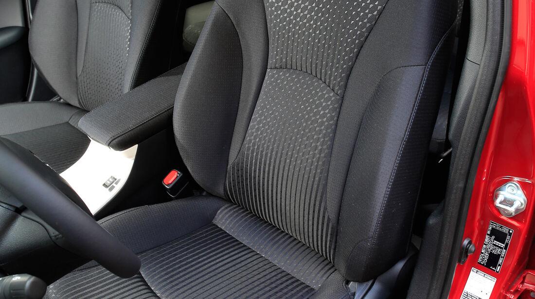Toyota Prius, Fahrersitz