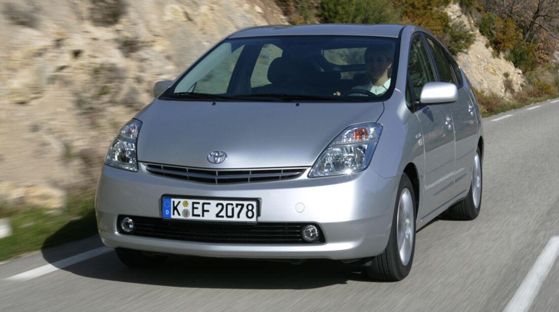Toyota Prius, Frontansicht