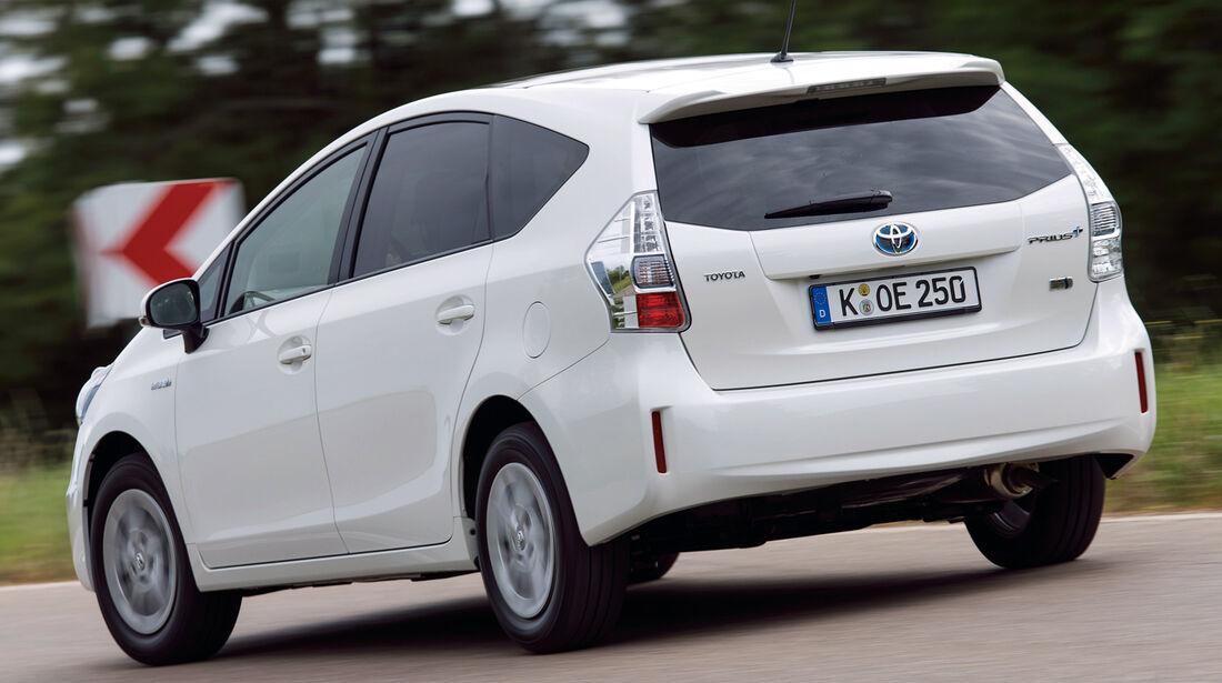 Toyota Prius+, Heckansicht