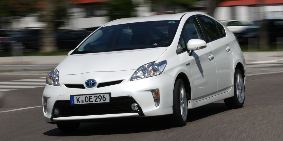 Toyota Prius Life, Frontansicht