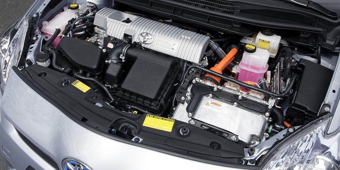Toyota Prius Plug-in Hybrid Motorraum