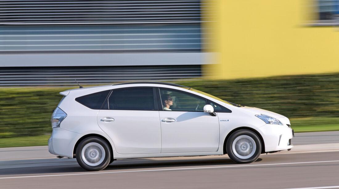 Toyota Prius Plus Life, Seitenansicht
