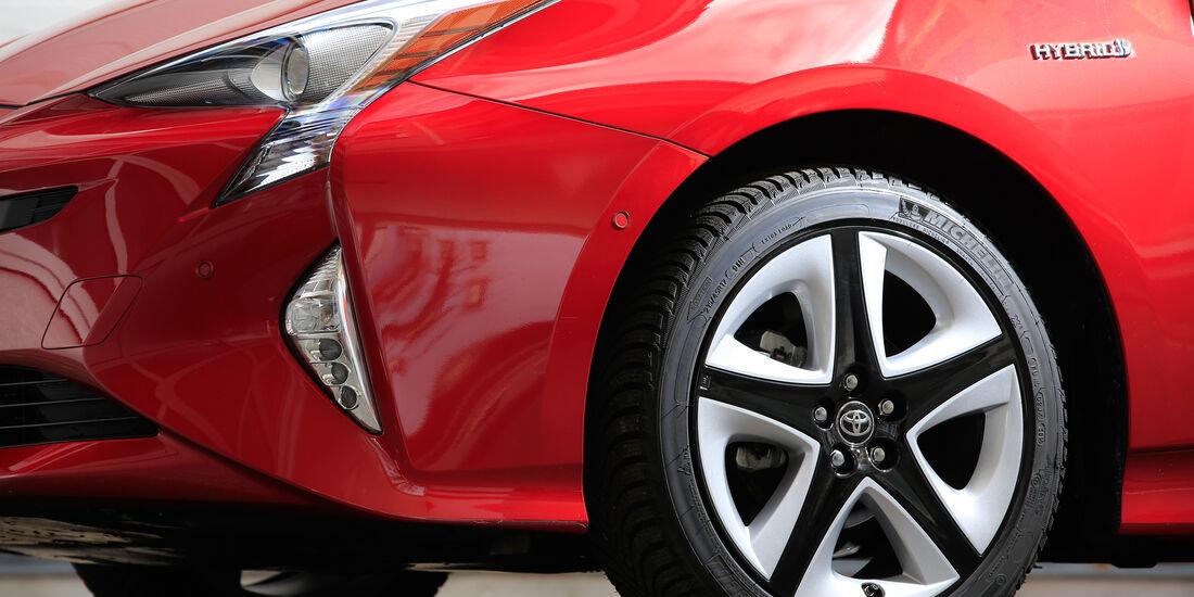 Toyota Prius, Rad, Felge