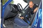 Toyota RAV4, Fahrersitz
