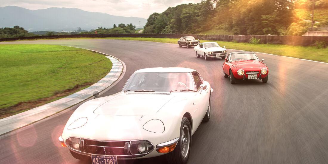 Toyota Fahrspaß Quartett Aus Fernost Auto Motor Und Sport