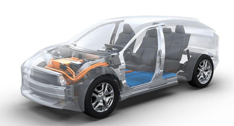 Toyota Subaru Elektroauto-Plattform
