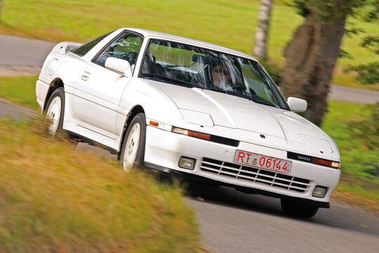 Toyota Supra 3.0i Turbo, Frontansicht