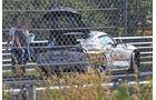 Toyota Supra Erlkönig Crash