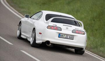 Toyota Supra, Heckansicht