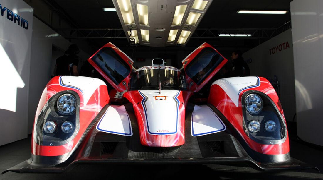 Toyota TS030 Hybrid Le Castellet 2012