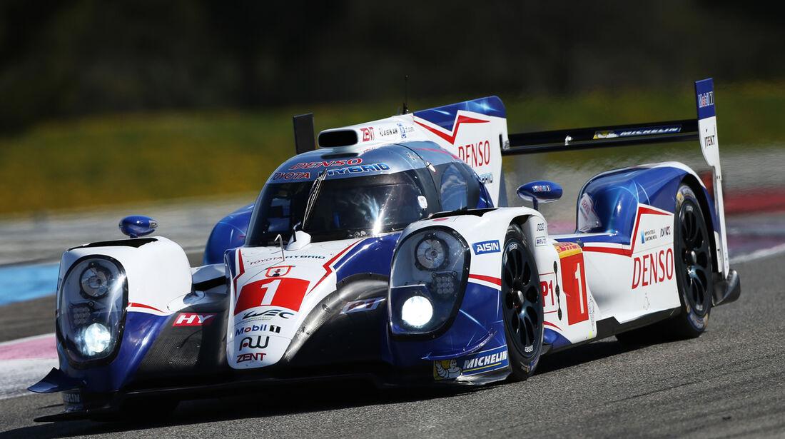 Toyota TS040 - WEC-Test - Prolog - Paul Ricard - 2015