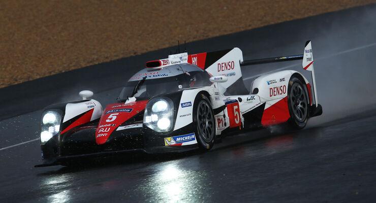 Toyota TS050 Hybrid - Startnummer 5 - 24h-Rennen Le Mans 2016 - Donnerstag - 16.6.2016