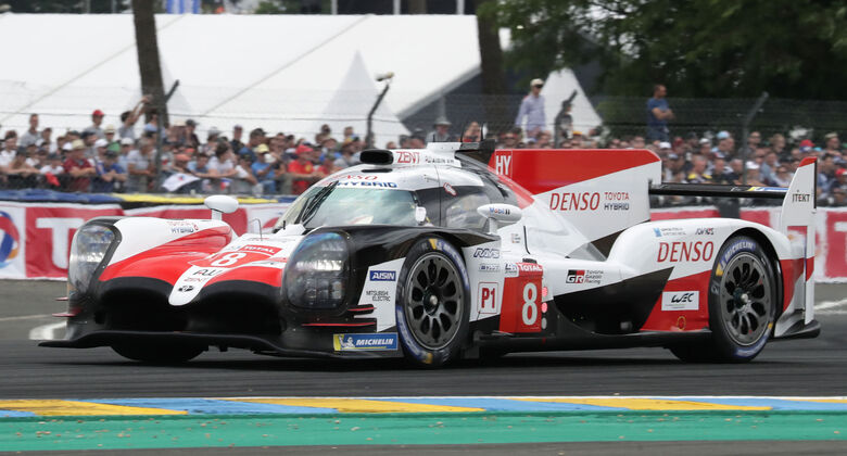 Toyota TS050 Hybrid - Startnummer #8 - 24h-Rennen Le Mans 2018