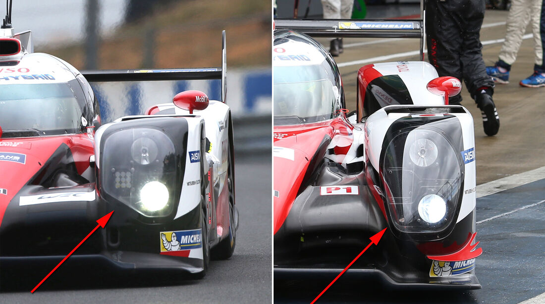 Toyota TS050 - Technik-Check - LeMans 2016