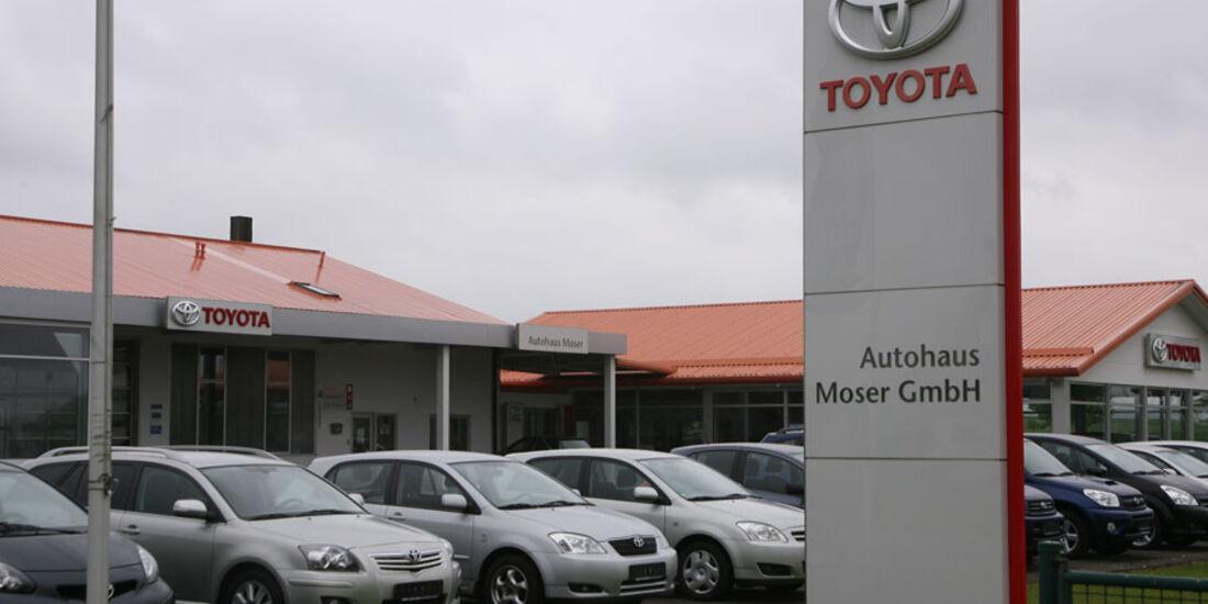 Toyota-Werkstatt, Autohaus Moser