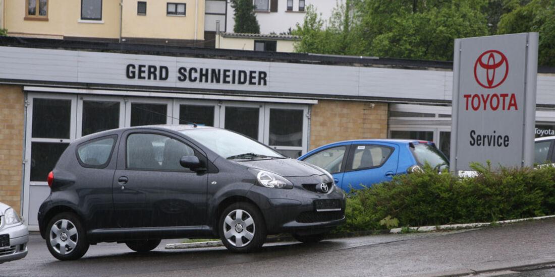 Toyota-Werkstatt, Autohaus Schneider
