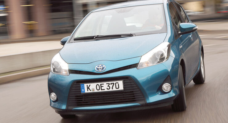 Toyota Yaris, Frontansicht
