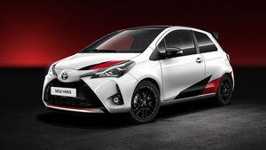 Toyota Yaris Sportmodell Facelift 2017