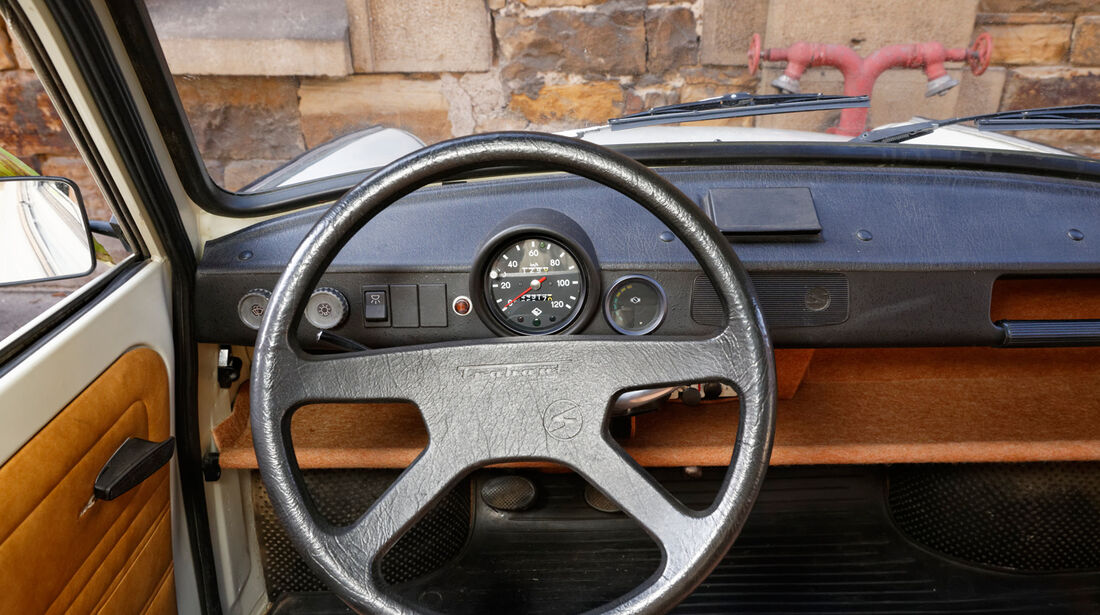 Trabant 601 L, Lenkrad