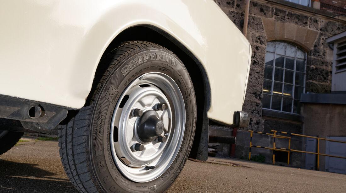 Trabant 601 L, Rad, Felge
