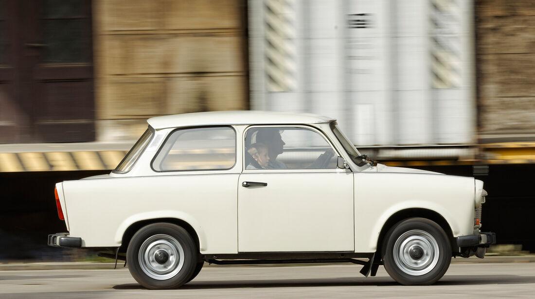 Trabant 601 L, Seitenansicht