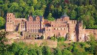 Traumrouten, Heidelberg, Schloß