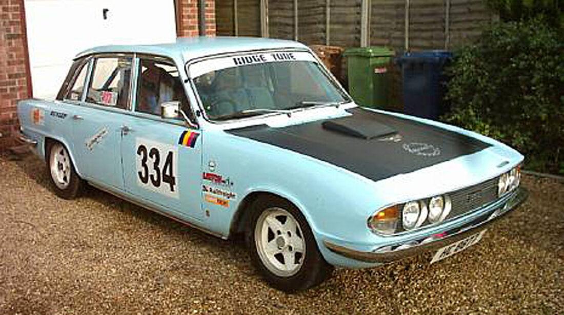 Triumph 2.5PI Competition Saloon