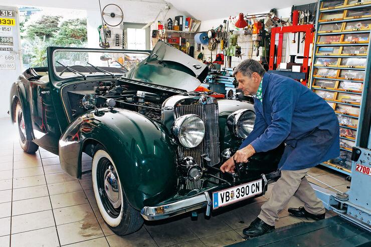 Triumph Roadster 2000, Frontansicht, Georg Ebner
