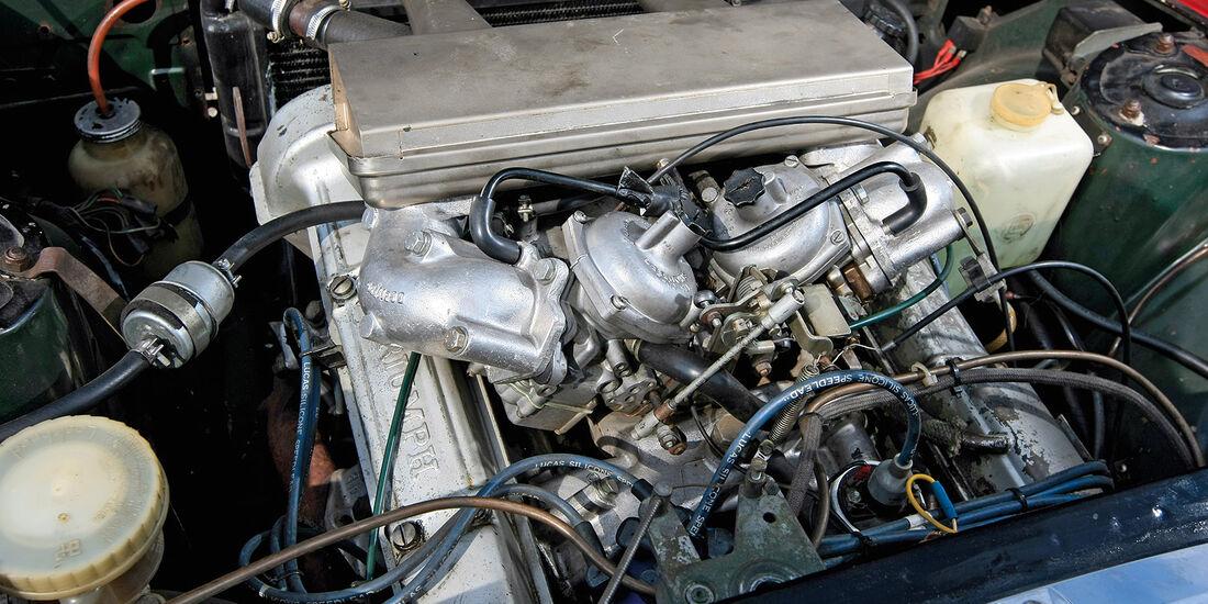 Triumph Stag Motorraum