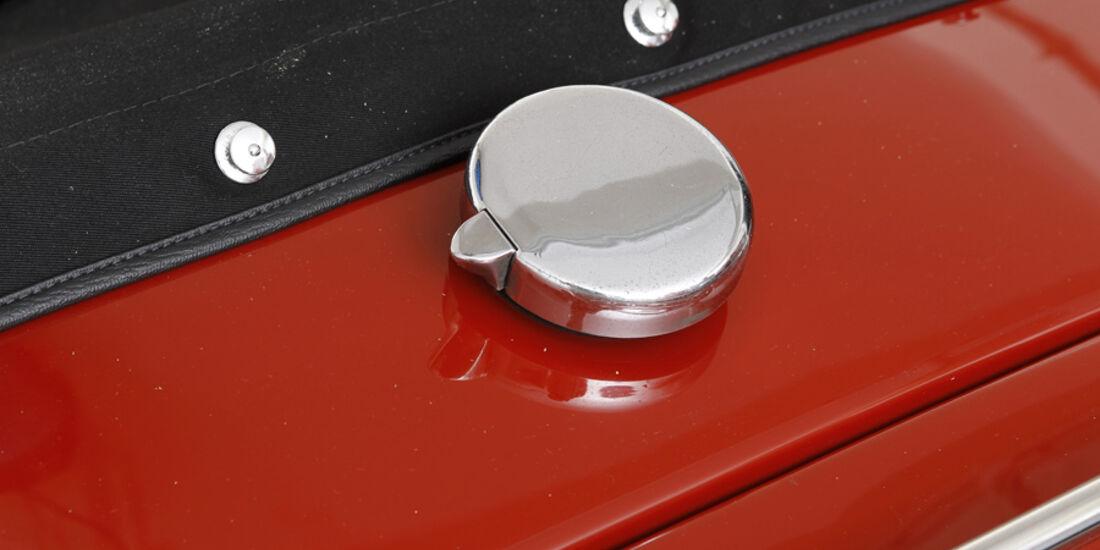 Triumph TR 3, Detail