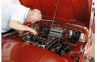 Triumph TR 3, Motorhaube, Martin Kürten