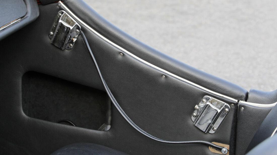 Triumph TR 3, Türöffner, Detail