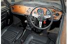 Triumph TR 6, Cockpit, Lenkrad