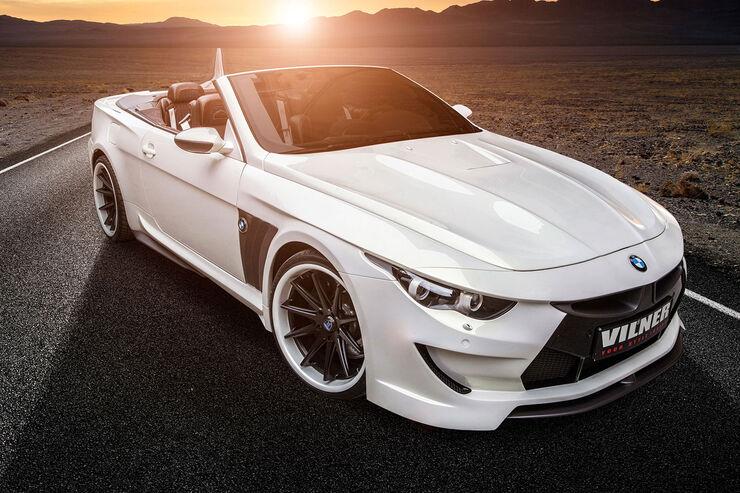 Bmw M6 Cabrio Von Vilner Der Breiteste M6 Aller Zeiten Auto Motor