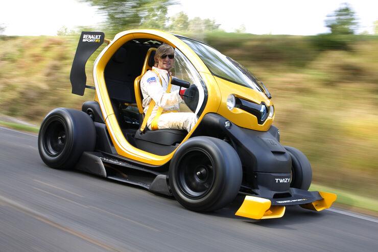 renault twizy sport f1 concept car im fahrbericht elektroauto auf speed auto motor und sport. Black Bedroom Furniture Sets. Home Design Ideas