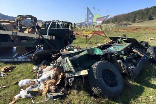 US Army Humvee, Fail, 04/2016