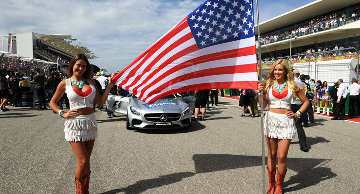 USA - Formel 1 - Grid Girls