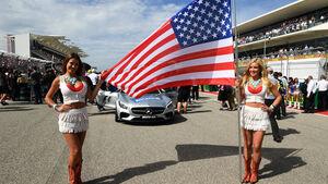 USA - Formel 1 - Grid Girls