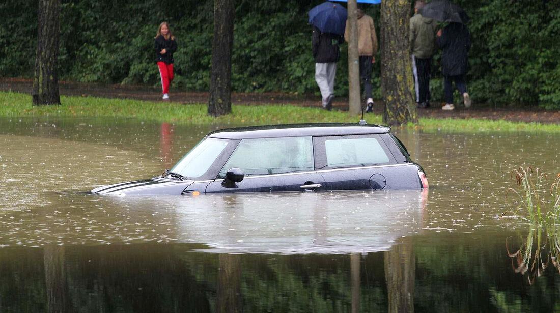Überschwemmung in Stuttgart