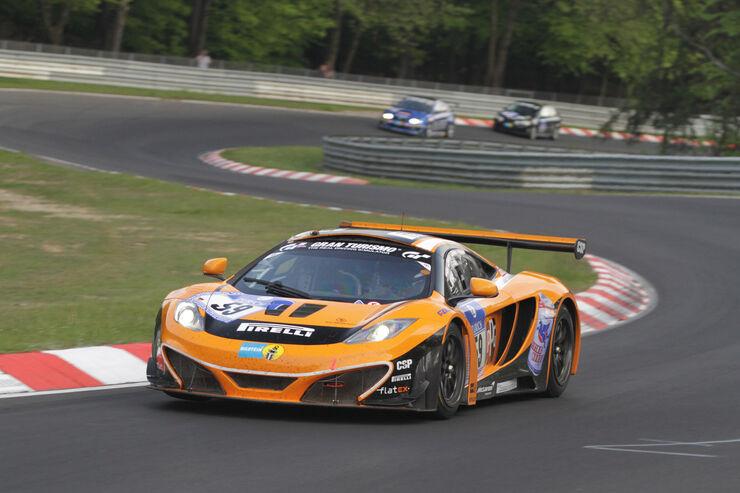 24h-rennen nürburgring: mclaren-totalausfall am ring - auto motor