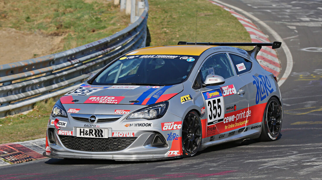 VLN 2014, #355, Opel Astra OPC CUP, CUP1, Langstreckenmeisterschaft Nürburgring