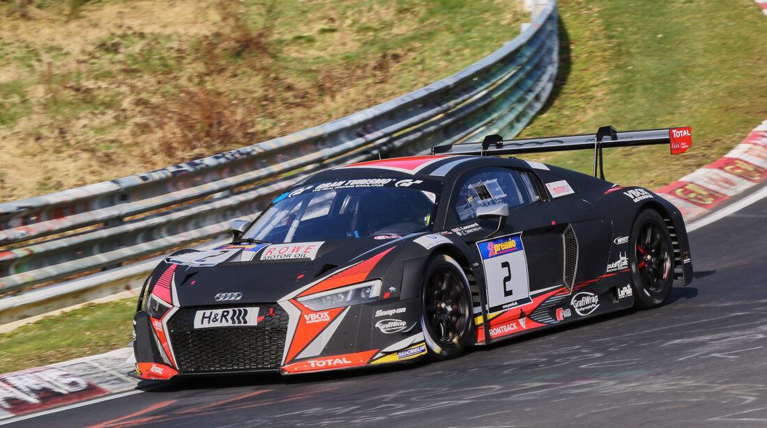 VLN 2016 - Nürburgring Nordschleife - Startnummer #2 - Audi R8 LMS - SP9