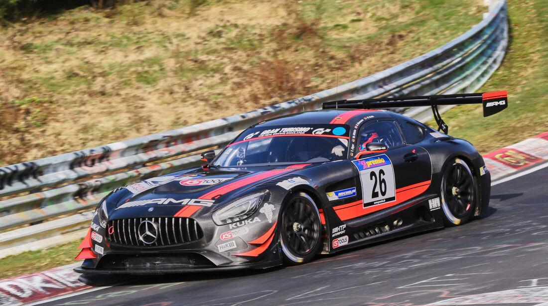VLN 2016 - Nürburgring Nordschleife - Startnummer #26 - Mercedes-AMG GT3 - SP9