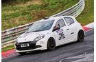 VLN 2016 - Nürburgring Nordschleife - Startnummer #286 - Renault Clio - SP3