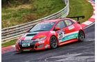 VLN 2016 - Nürburgring Nordschleife - Startnummer #317 - Honda Civic - SP3T
